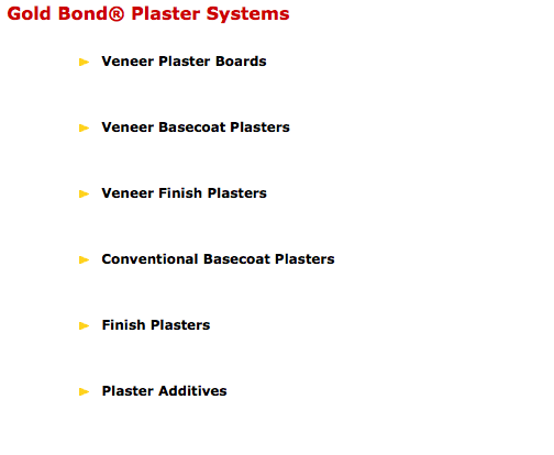 National gypsum texas stucco supply for Gold bond joint compound
